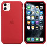 TDG iPhone 11 Silicone Case Red - YourDeal India
