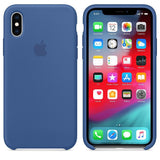 TDG iPhone XS Max SIlicone Case OG Delft Blue - YourDeal India