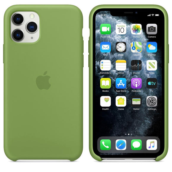 TDG iPhone 11 Pro Silicone Case Green  iPhone 11 Pro OG Silicone Back Case - YourDeal India
