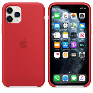 TDG iPhone 11 Pro Max Silicone Case Red - YourDeal India