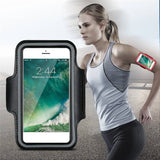 Sports Running Arm Band Case for OnePlus 6 Black - YourDeal India