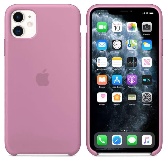 TDG iPhone 11 Silicone Case Pink