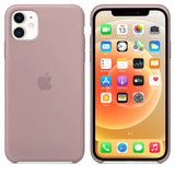 TDG iPhone 12 / 12 Pro Silicone Case Pink Sand