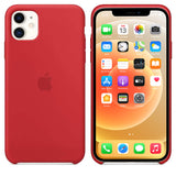 TDG iPhone 12 Pro Max Silicone Case Red