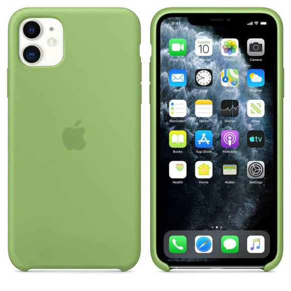 TDG iPhone 11 Silicone Case Green - YourDeal India