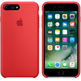 TDG OG SIlicone Case for Apple iPhone 7 Plus & iPhone 8 Plus Red Apple OG Silicon Back Case - YourDeal India