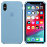 TDG OG Silicone Case for Apple iPhone X XS Cornflower Apple OG Silicon Back Case - YourDeal India