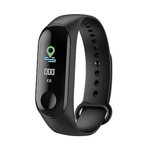 TDG M3 Band Fitness Tracker Smart Band Black - YourDeal India