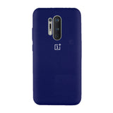 TDG Oneplus 8 Pro Back Cover Silicone Protective Case Dark Blue