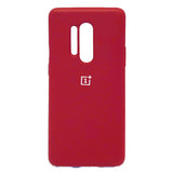 TDG Oneplus 8 Pro Back Cover Silicone Protective Case Red