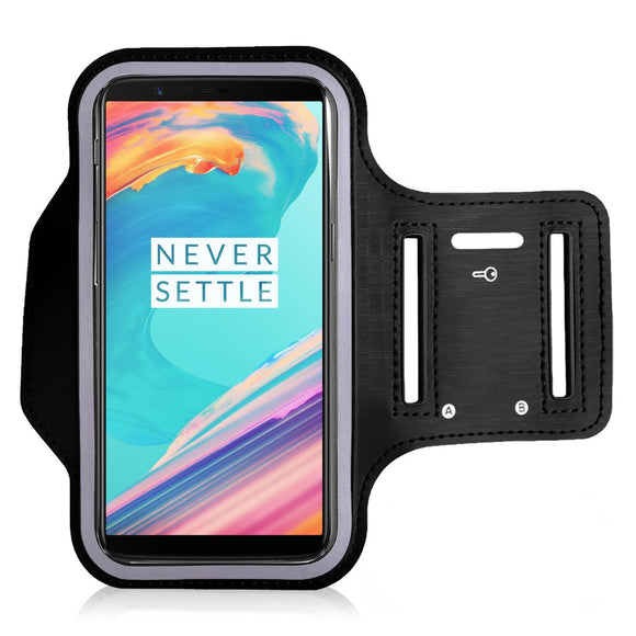 Sports Running Arm Band Case for OnePlus 5T Black | YourDeal India