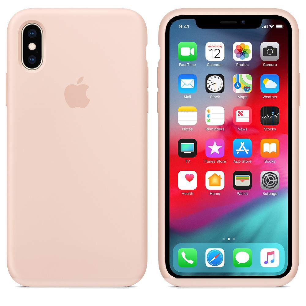 TDG iPhone XR SIlicone Case OG Pink Sand Full cover