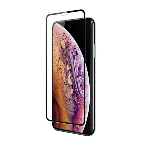 Apple iPhone XS MAX 3D Tempered Glass 9H Full Curved Edge to Edge Coverage  3D Tempered Glass - YourDeal India