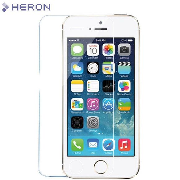 0.3mm Tempered Glass Screen Protector 9H Hard 2.5D for iPhone 5 5s 6 6s SE 4 4S i7 7 plus - YourDeal India