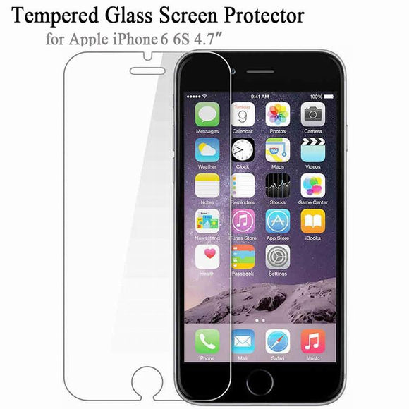 Soultz Tempered Glass Film for iPhone 5 5s 7 Plus 9H Hard 2.5D Screen Protector for iPhone 6 6s 6 Plus SE 4 8 with Clean Tools - YourDeal India