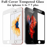 3D Tempered Glass For iPhone 6 6s 7 8 Plus X XR XS MAX 9H Edge to Edge Coverage - YourDeal India
