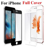 3D Tempered Glass Full Edge to Edge Cover For iPhone 6 6S 7 8 Plus - YourDeal India