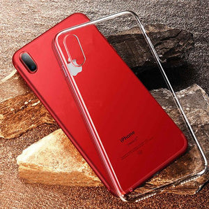 Ultra Thin TPU Soft Silicon Transparent Back Cover Case For iPhone X  Back Cover - YourDeal India
