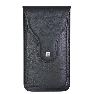Puloka PU Leather Belt Pouch for 2 Mobiles Phones - YourDeal India