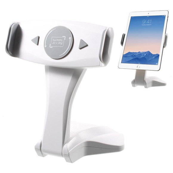 Universal Desk Table Tablet Mount Stand Holder (White Gray) for iPad Pro 12.9 / iPad Mini 4 - YourDeal India