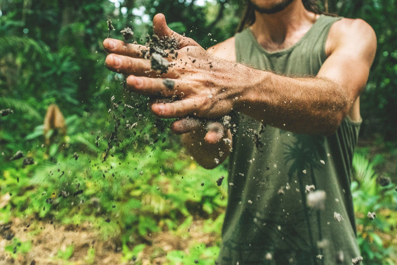 Dirt is NOT A Cleanser... What my Boyfriend Learned About Love & Clean Hands | Hippie Skin
