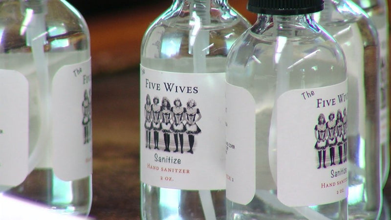 New Sanitizers Coming from Utah's Distilleries | Hippie Skin