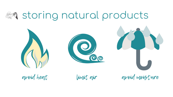 Storing Natural Products Graphic Hippie Skin Natural Skin Care