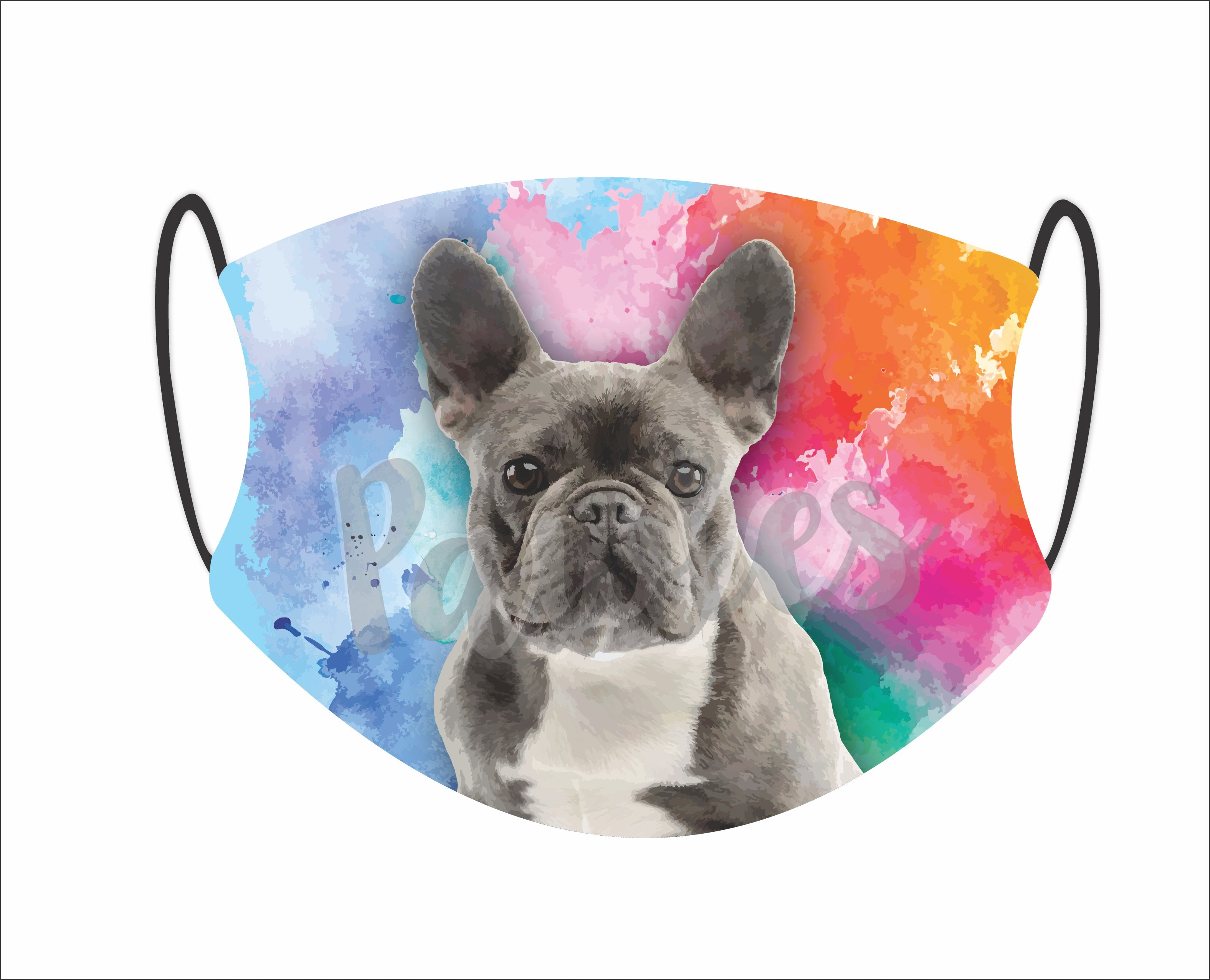French Bulldog Face Mask