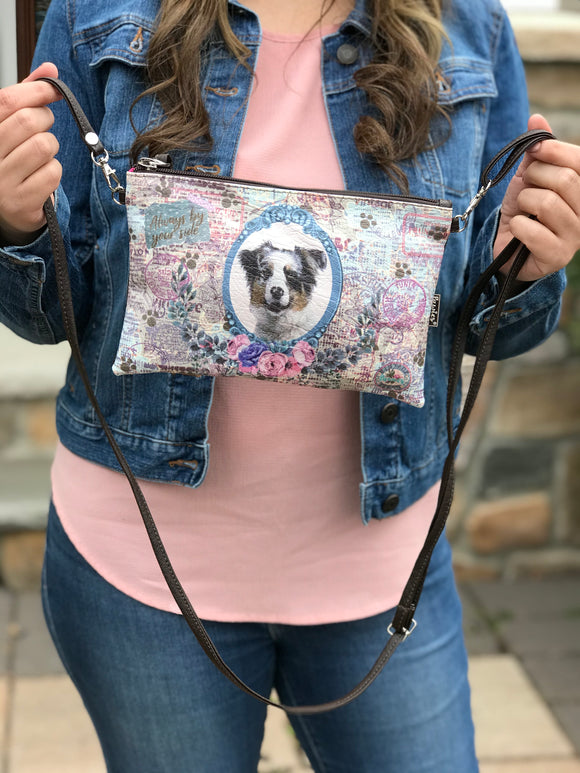 Australian Shepherd Crossbody Bag