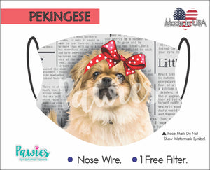 Open image in slideshow, Pekingese Cream Face Mask