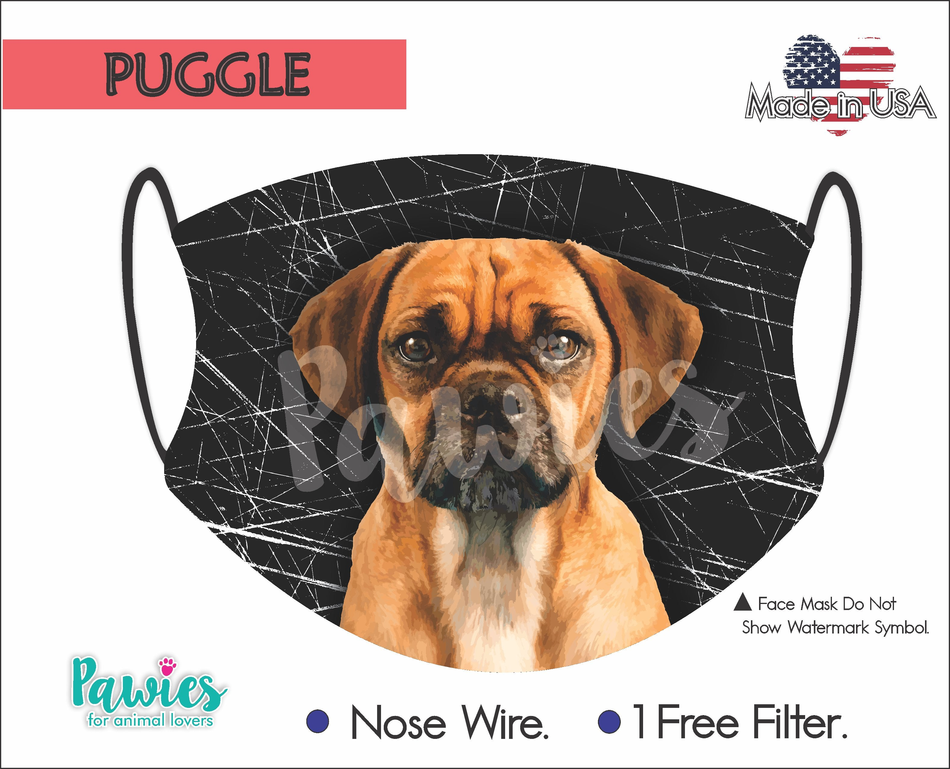 Puggle Face Mask