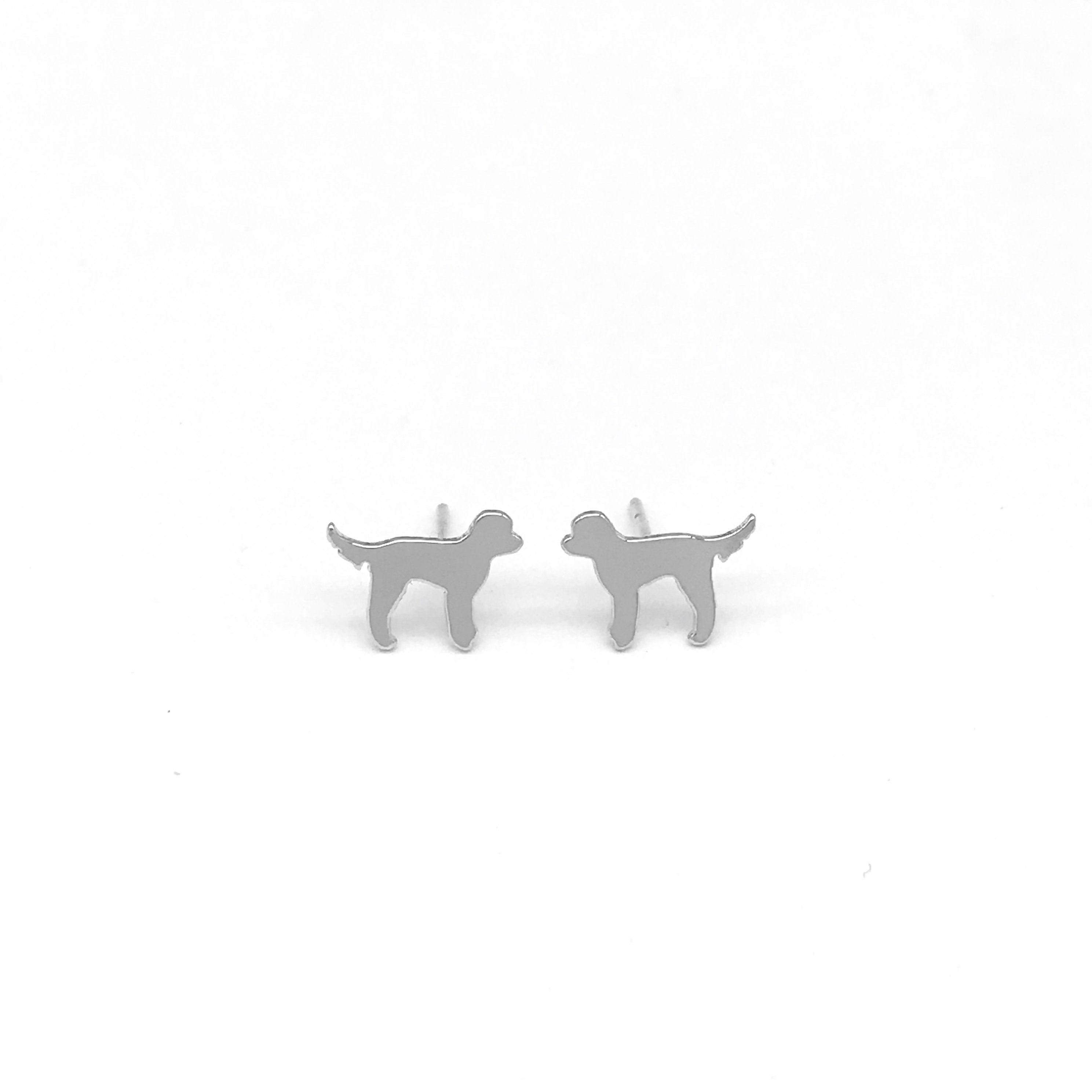 GOLDENDOODLE EARRINGS