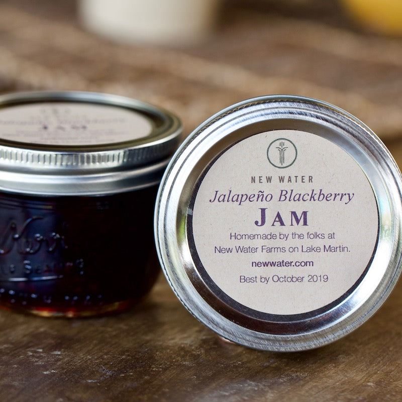 Jalapeno Blackberry Jam