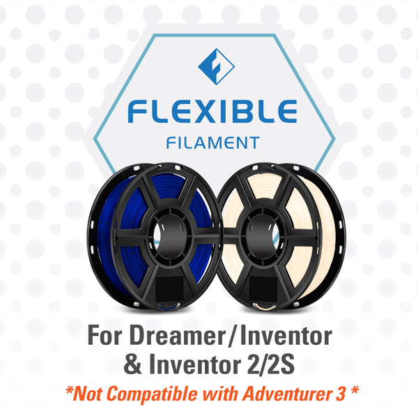 FlashForge Flexible Filament for Dreamer and Inventor Series
