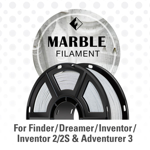 FlashForge Marble Color Filament for Inventor Series, Adventurer 3 Series, and Dreamer