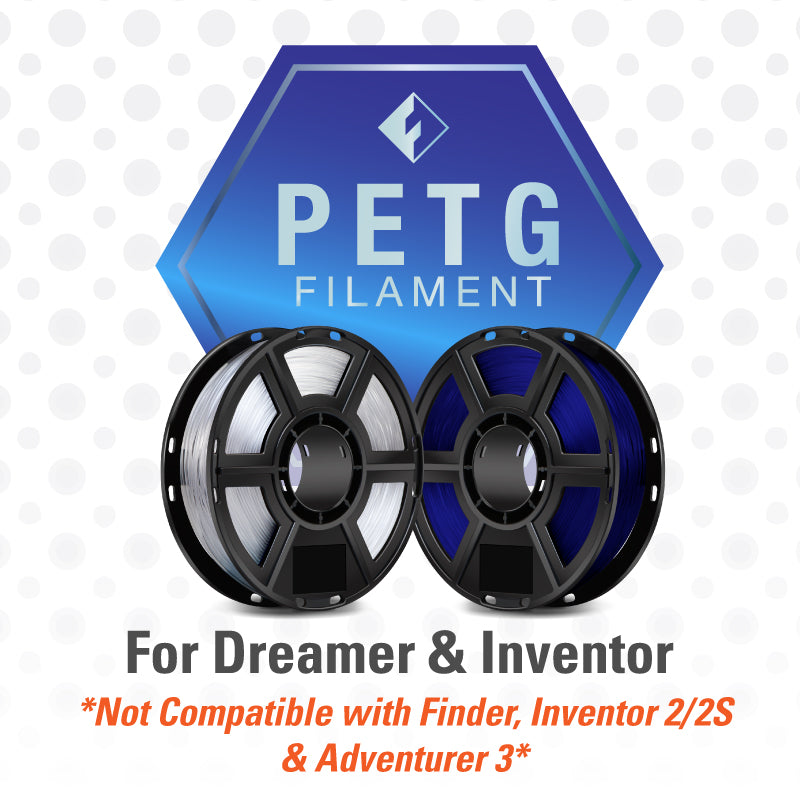 FlashForge PETG Filament for Dreamer and Inventor