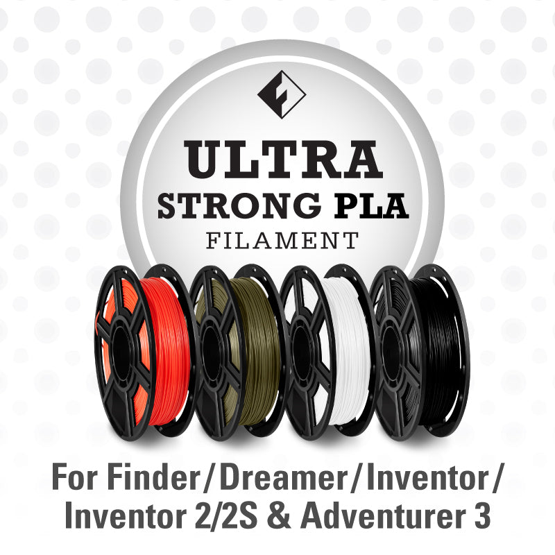 FlashForge Ultra Strong PLA Filament for Dreamer, Inventor Series & Adventurer 3
