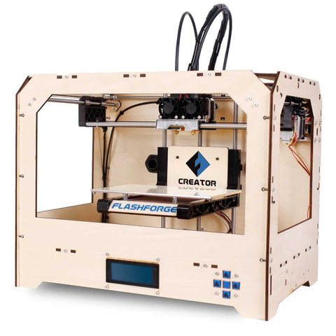 FLASHFORGE Creator Dual Extrusion 3D Printer (Certified Refurbished)