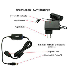 CipherLab 8001 Rechargeable Scanner