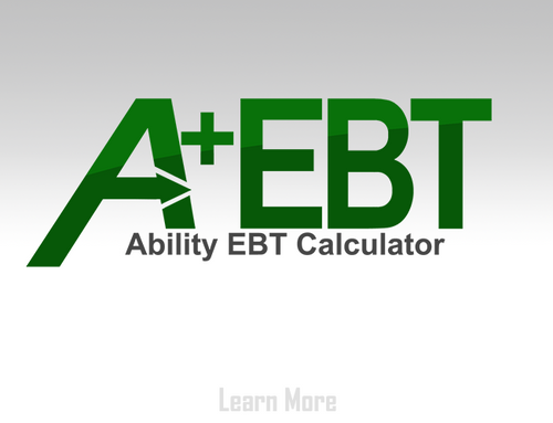 Ability EBT Calculator for QuickBooks Point of Sale - Annual Subscription