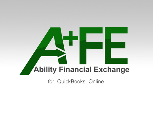 Ability Financial Exchange for QBO - Monthly Subscription