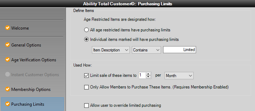 Ability Purchasing Limits for QuickBooks Point of Sale - Annual Subscription