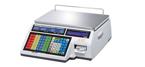 CAS CL-5500B Label Printing Scale