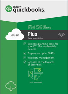 QuickBooks Online Plus - Annual Subscription