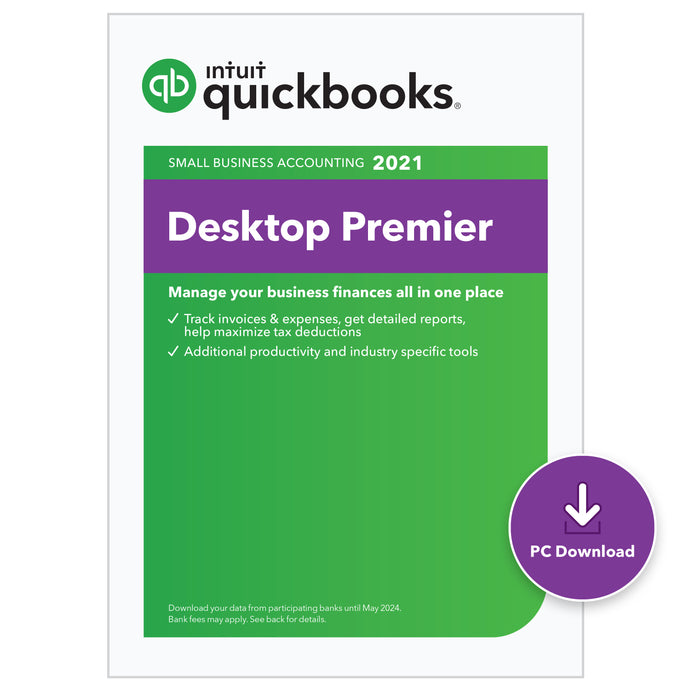QuickBooks Desktop Premier 2021 - Download