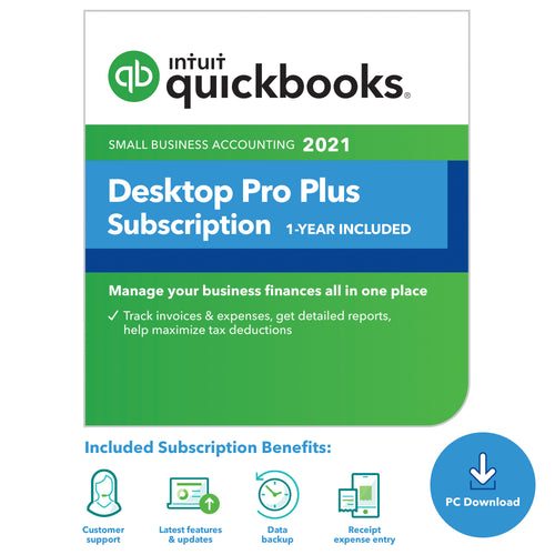 QuickBooks Pro Plus - Annual Subscription