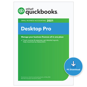 QuickBooks Desktop Pro 2021 - Download