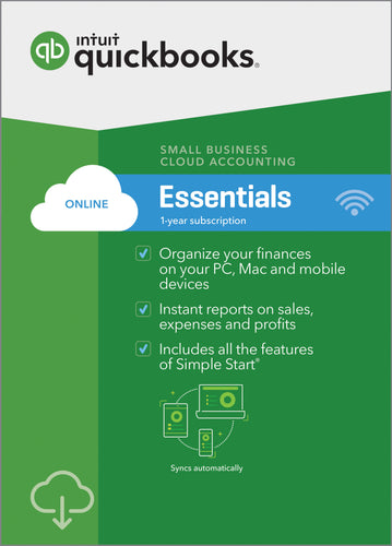 QuickBooks Online Essentials - Monthly Subscription