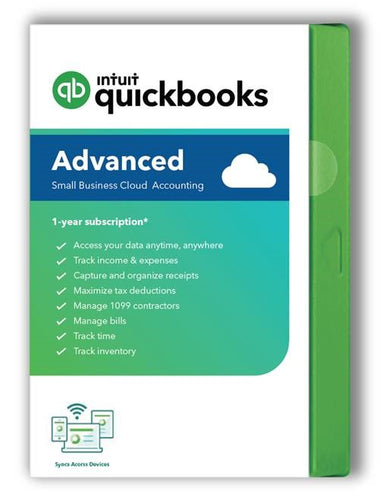 QuickBooks Online Advanced - Monthly Subscription