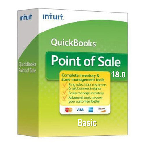 QuickBooks Point of Sale Basic v18 New User